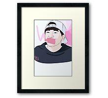 WONWOO Framed Print