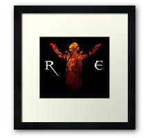Resident Evil - Alice Abernathy Framed Print