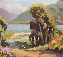 Batiquitos Lagoon  by Robert  Ferguson