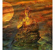 Buddha Dusk Photographic Print