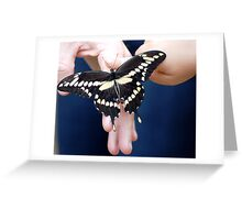 Human and Nature Greeting Card