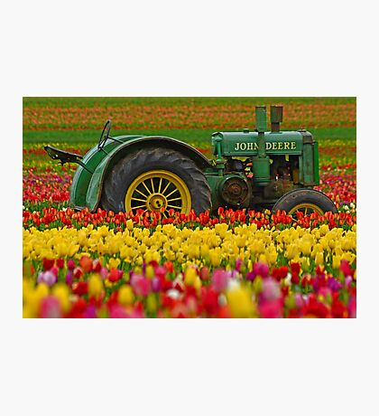 Nothing Runs Like A Deere Photographic Print