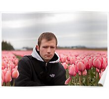 Self - Tulips Poster
