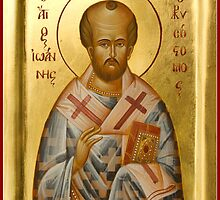 St John Chrysostom by ikonographics