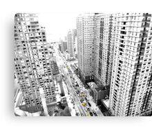 New york city Yellow taxi Canvas Print