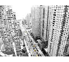 New york city Yellow taxi Photographic Print