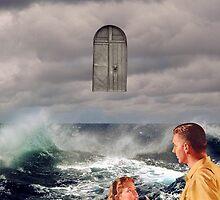 Floating door by mrsaraneae