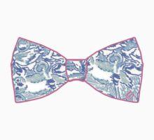 Kappa Kappa Gamma Bow Tie by Colette Gress