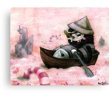 Man Overboard!!! Canvas Print