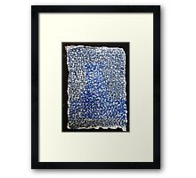 wade in the water Framed Print