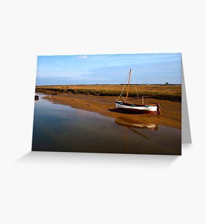 Norfolk landscape. Greeting Card