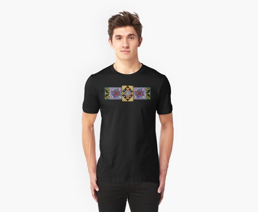 Celtic Cross 1 T Shirt by Maggie Keegan