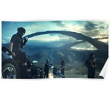 Final Fantasy 15 Poster Poster
