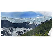 Glaciar de Monte Tronador, Lago Nahuel Huapi NP, Bariloche Poster