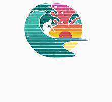 Hawaiian surfer sunrise  Unisex T-Shirt