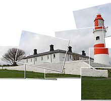 Just Souter Lighthouse by Harry Purves