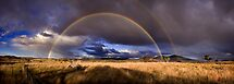 Burra rainbow squared by Mark Will