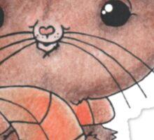 Autumn Mouse Sticker