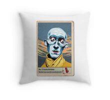 Scary Krishna Throw Pillow