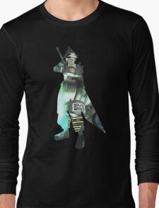 Final Fantasy VII - Cloud and Midgar Long Sleeve T-Shirt