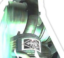 Final Fantasy VII - Cloud and Midgar Sticker