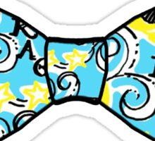 Kappa Alpha Theta Bow Tie Sticker