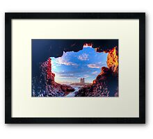 Fantasy Dawn Framed Print