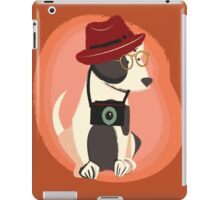 Funny cool Hipster Puppy Dog iPad Case/Skin