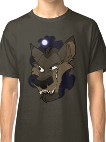 Big bad wolf with moon Classic T-Shirt