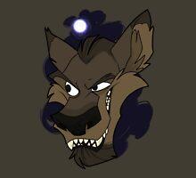 Big bad wolf with moon Unisex T-Shirt