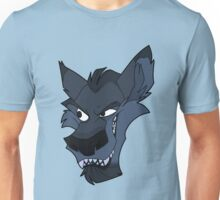 Big bad blue wolf Unisex T-Shirt