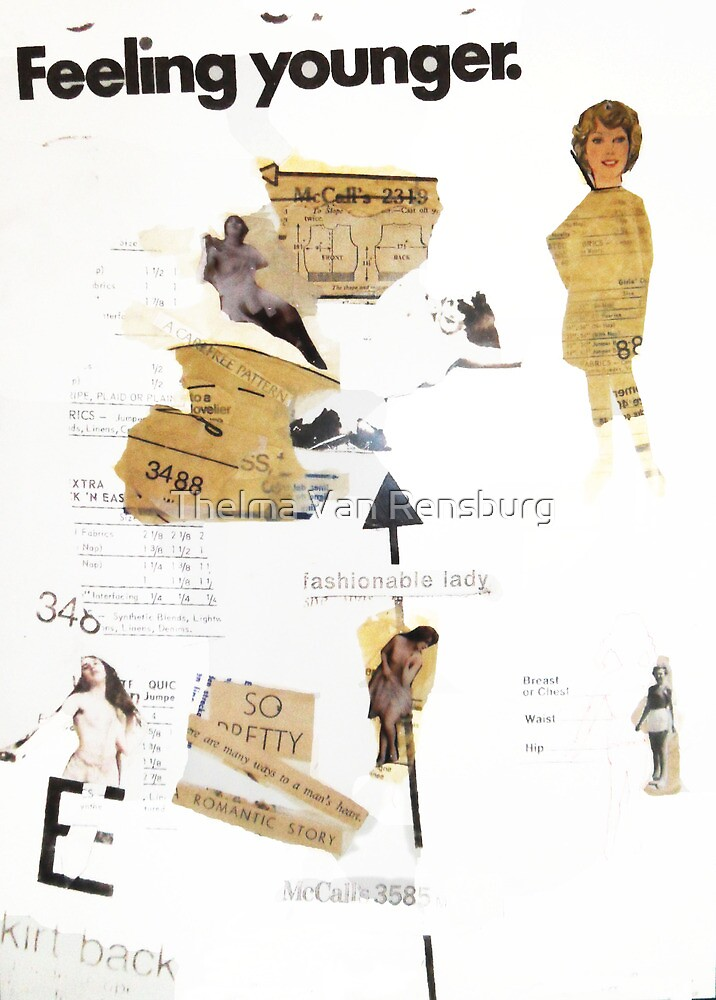 Fashionable lady, 2010 by Thelma Van Rensburg