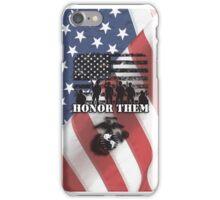 Honor Them-Marines iPhone Case/Skin