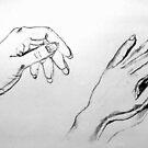 Hands Sketch by Victoria limerick