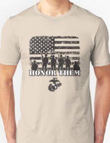 Honor Them-Marines Unisex T-Shirt