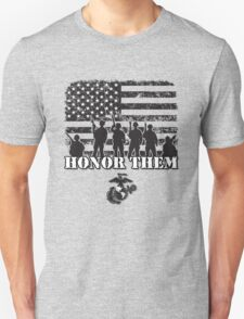 Honor Them-Marines T-Shirt