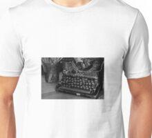 Typewriter Unisex T-Shirt