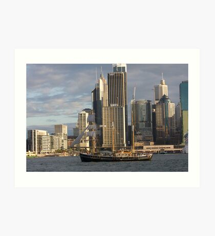 History on the Harbour Art Print
