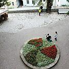 A small town square by Natasha O'Connor