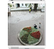 A small town square iPad Case/Skin