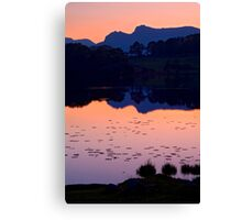 Loughrigg Tarn, The Lake District Canvas Print