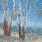 &quot;Burnett Country&quot; Pastel  by Alison Murphy
