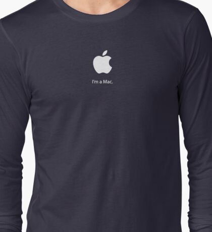 I'm a Mac. Long Sleeve T-Shirt