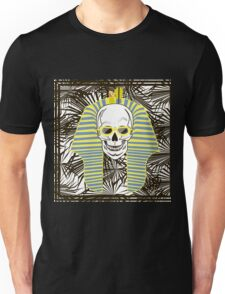 Skull Pharaoh, Day of The Dead, Vintage Vector illustration Unisex T-Shirt
