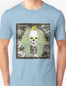 Skull Pharaoh, Day of The Dead, Vintage Vector illustration T-Shirt