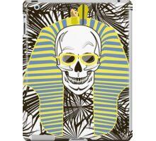 Skull Pharaoh, Day of The Dead, Vintage Vector illustration iPad Case/Skin