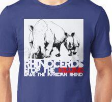 save africa's rhinoceros Unisex T-Shirt