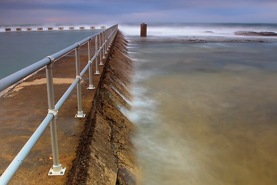 Merewether Ocean Baths - The Overflow by Andi Surjanto