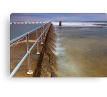 Merewether Ocean Baths - The Overflow Canvas Print