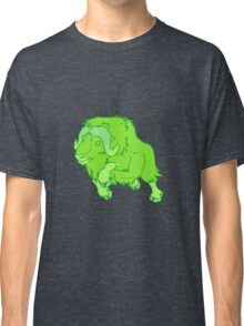 Leaping Lime Musk-ox Classic T-Shirt